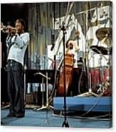 Photo Of Jazz Messengers And Art Blakey Canvas Print
