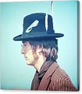 Photo Of John Lennon Canvas Print