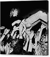 Photo Of Kurt Cobain And Nirvana And Canvas Print