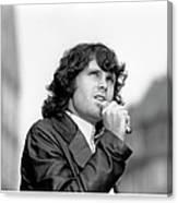 Photo Of Morrison Jim Canvas Print