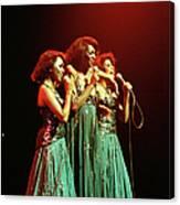 Photo Of Supremes And Susaye Greene And Canvas Print