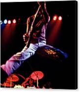 Photo Of Who And Keith Moon And Pete Canvas Print