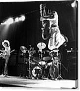 Photo Of Who And Roger Daltrey And Pete Canvas Print