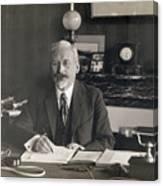 Physicist Edward Guillaume Canvas Print