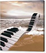 Piano Fantasy Canvas Print