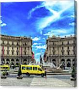 Piazza Della Repubblica Canvas Print