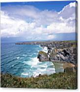 Picturesque Cornwall - Bedruthan Canvas Print