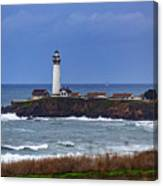 Pigeon Point Light Station In San Mateo County Ca Canvas Print