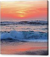 Pink Sunrise Panorama Canvas Print