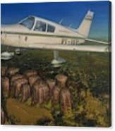 Piper Cherokee -140 Canvas Print