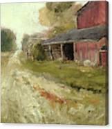 Pipersville Farm Canvas Print