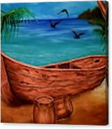 Pirates' Story Canvas Print