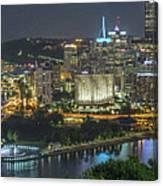Pittsburgh Lights Canvas Print