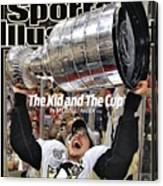 Pittsburgh Penguins Sidney Crosby, 2009 Nhl Stanley Cup Sports Illustrated Cover Canvas Print