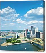 Pittsburgh, Pennsylvania Skyline With Canvas Print