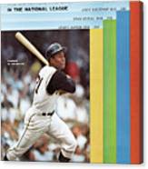 Pittsburgh Pirates Roberto Clemente... Sports Illustrated Cover Canvas Print