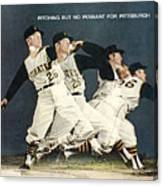 Pittsburgh Pirates Roy Face Sports Illustrated Cover Canvas Print