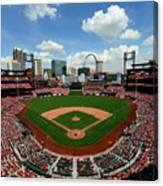 Pittsburgh Pirates V St Louis Cardinals Canvas Print