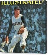 Pittsburgh Pirates Vern Law... Sports Illustrated Cover Canvas Print