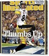 Pittsburgh Steelers Hines Ward, Super Bowl Xl Sports Illustrated Cover Canvas Print