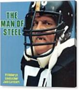 Pittsburgh Steelers Jack Lambert. Sports Illustrated Cover Canvas Print