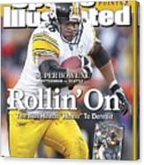 Pittsburgh Steelers Jerome Bettis, 2006 Afc Championship Sports Illustrated Cover Canvas Print