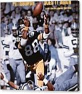 Pittsburgh Steelers Lynn Swann, Super Bowl X Sports Illustrated Cover Canvas Print