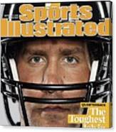 Pittsburgh Steelers Qb Ben Roethlisberger, 2009 Nfl Sports Illustrated Cover Canvas Print
