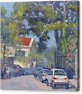 Plateia Kefalari Kifissia Athens Canvas Print