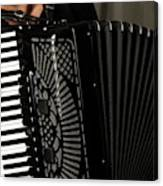 Play The Accordion Canvas Print
