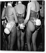 Playboy Club Party In Ny Canvas Print