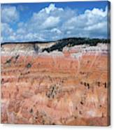 Point Supreme Overlook - Cedar Breaks - Utah  Canvas Print