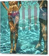 Pool At Las Brisas Canvas Print