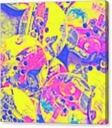 Pop Art Garage  Canvas Print