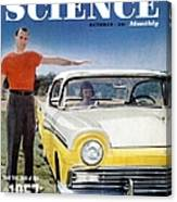 Popular Science Magazine Covers Canvas Print