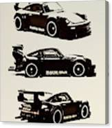 Porsche Rwb 930 Canvas Print