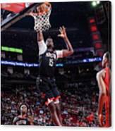 Portland Trail Blazers V Houston Rockets Canvas Print