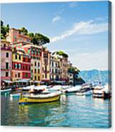 Portofino, Liguria, Italy Canvas Print