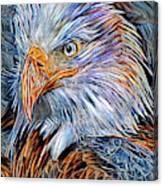 Portrait Of A Watchful Eye Canvas Print