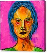 Portrait Of A Woman 1139 Canvas Print