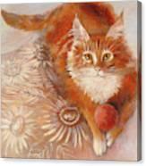 Portrait Of Fandorin Canvas Print