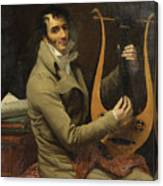 Portrait Of Jean-dominique Fabry Garat Canvas Print