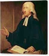 Portrait Of John Wesley Canvas Print