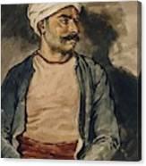 Portrait Of Mustapha Canvas Print