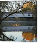 Potter's Bridge, Noblesville, Indiana Canvas Print