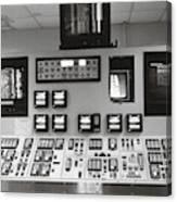 Power Plant Instrument Board Canvas Print
