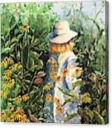 Prairie Girl Canvas Print