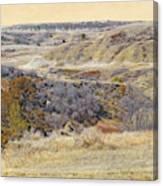 Prairie Slopes Reverie Canvas Print