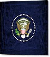 President Seal Eagle Canvas Print