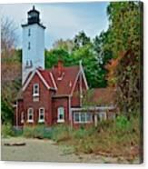 Presque Isle Lighthouse Canvas Print